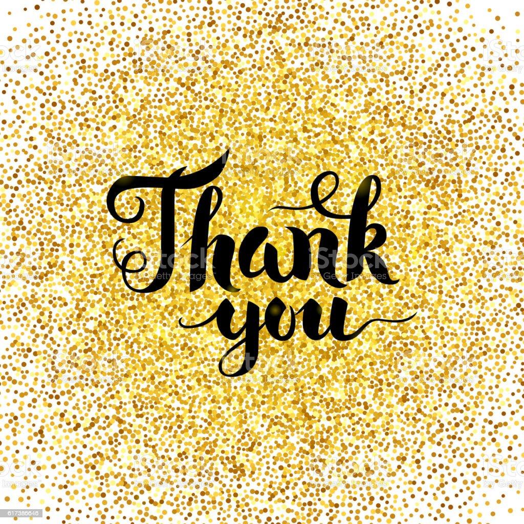 Download Lagu Thanku Next: Royalty Free Thank You Card With Golden Circle Golden