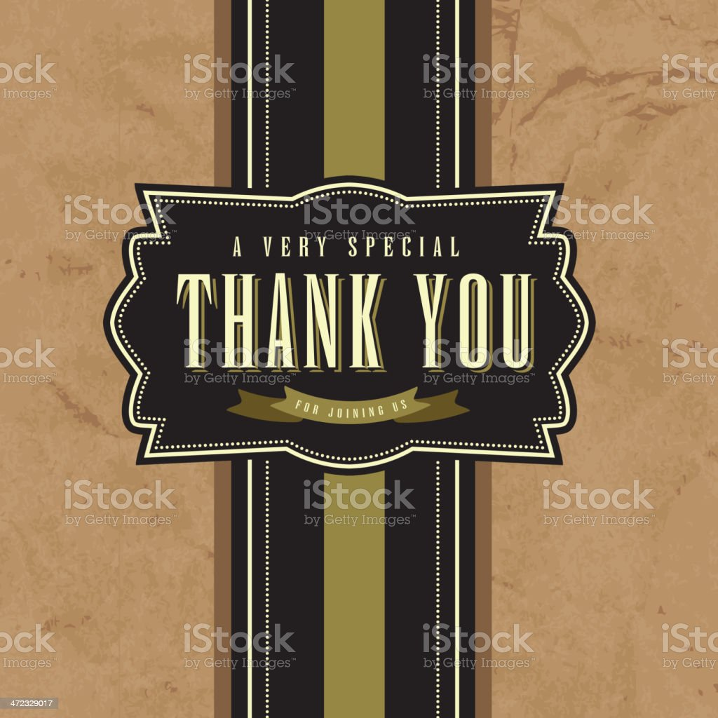 Thank you greeting card template royalty-free thank you greeting card template stock vector art & more images of backgrounds