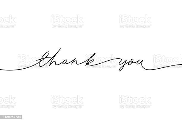 El Vektör Modern Kaligrafi Çizilmiş Teşekkür Ederiz El Yazısı Mürekkep Illüstrasyon Teşekkür Ederiz Stok Vektör Sanatı & Alıntı - Yazı'nin Daha Fazla Görseli
