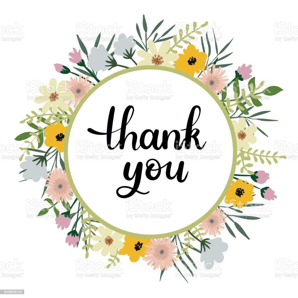 Thank you handwritten inscription modern calligraphy greeting card thank you handwritten inscription modern calligraphy greeting card royalty free thank you handwritten m4hsunfo