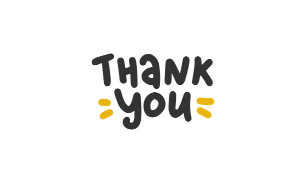 спасибо. рукописные векторные надписи. уникальный нарисованный вручную детский плакат. симпатичные фразы. чернила кисти каллиграфии. скан� - thank you stock illustrations