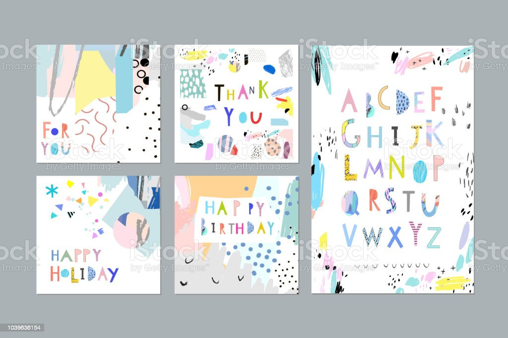 Thank You Happy Birthday Happy Holiday Cards And Posters Plus Hand