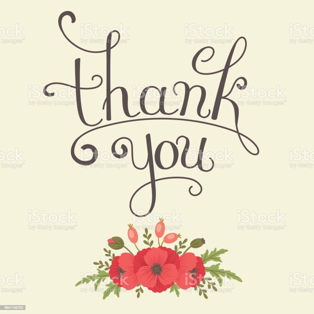 Thank You lettering ロイヤリティフリーthank you lettering - thank youのベクターアート素材や画像を多数ご用意