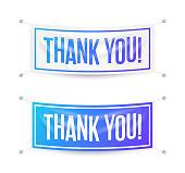 Thank you gratitude signs design.