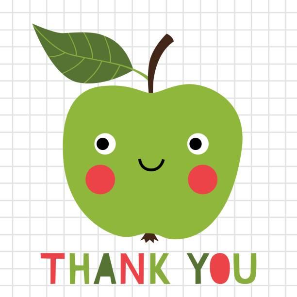 Thank you teacher greeting card Thank you teacher greeting card thank you teacher stock illustrations