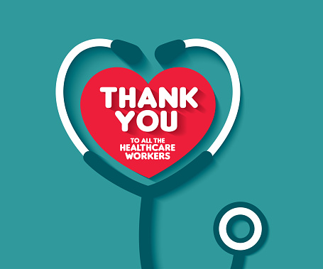 Thank You to all the healthcare workers. Thank you doctors and Nurses. Thank you heroes.