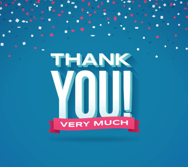 thank you very much - thank you stock illustrations