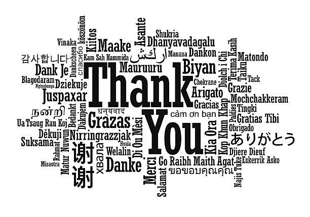 単語の雲ありがとうございました。 - 感謝点のイラスト素材/クリップアート素材/マンガ素材/アイコン素材