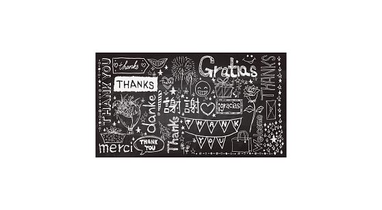 Thanks you words collection