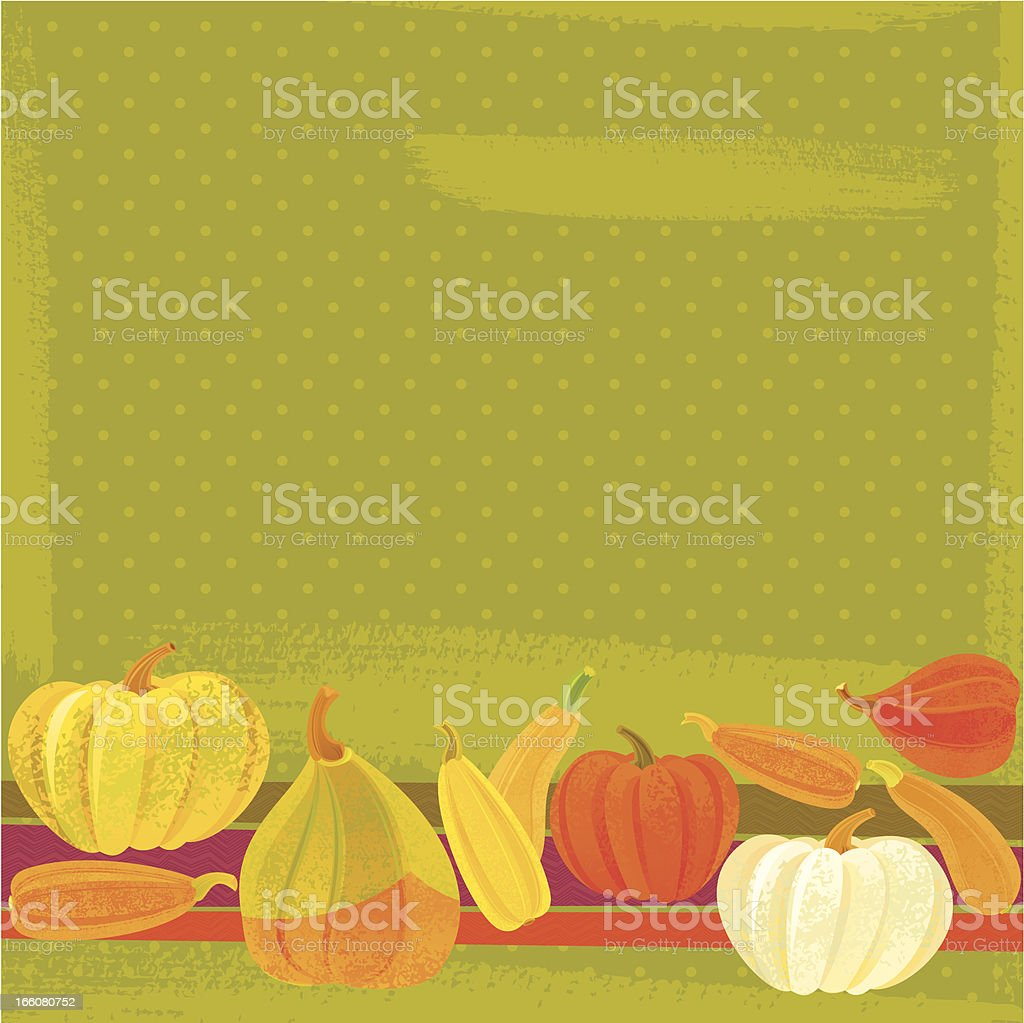 Thanksgiving Background with Pumpkins royalty-free thanksgiving background with pumpkins stock vector art & more images of autumn
