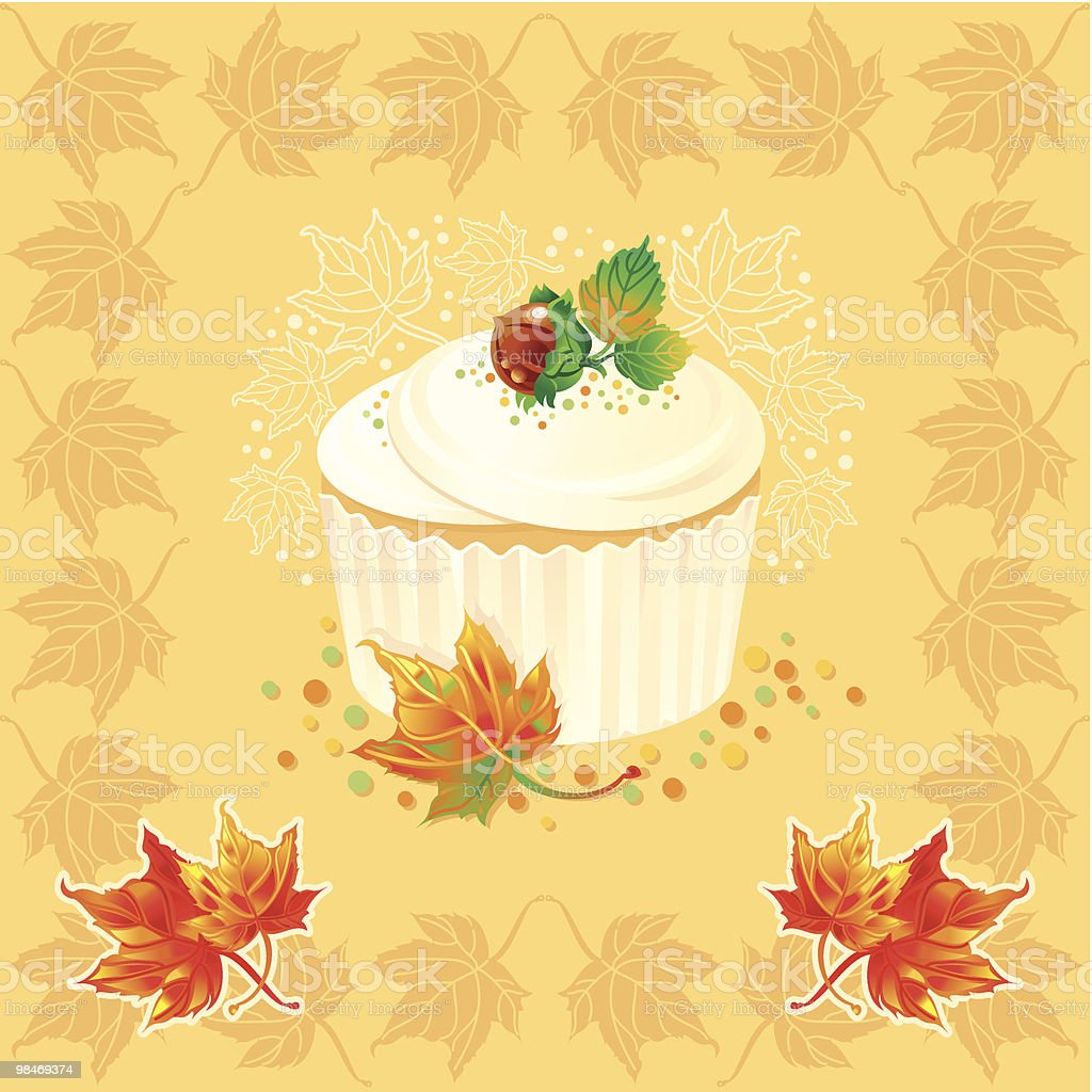 Thanksgiving cake royalty-free thanksgiving cake stock vector art & more images of art