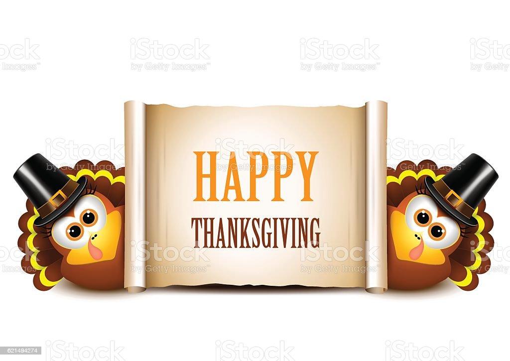 Thanksgiving Card Design Template. Turkeys on a white background thanksgiving card design template turkeys on a white background – cliparts vectoriels et plus d'images de aliment libre de droits
