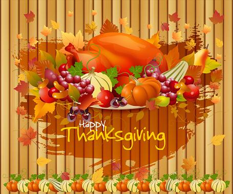Thanksgiving Celebrations Background