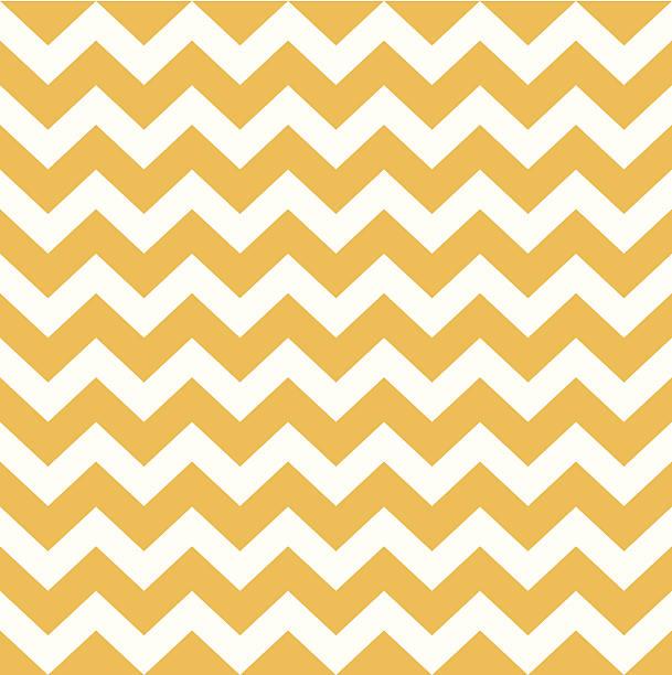 illustrazioni stock, clip art, cartoni animati e icone di tendenza di modello di ringraziamento chevron-giallo e bianco - zigzag