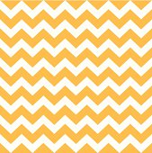 Thanksgiving Chevron pattern - yellow and white