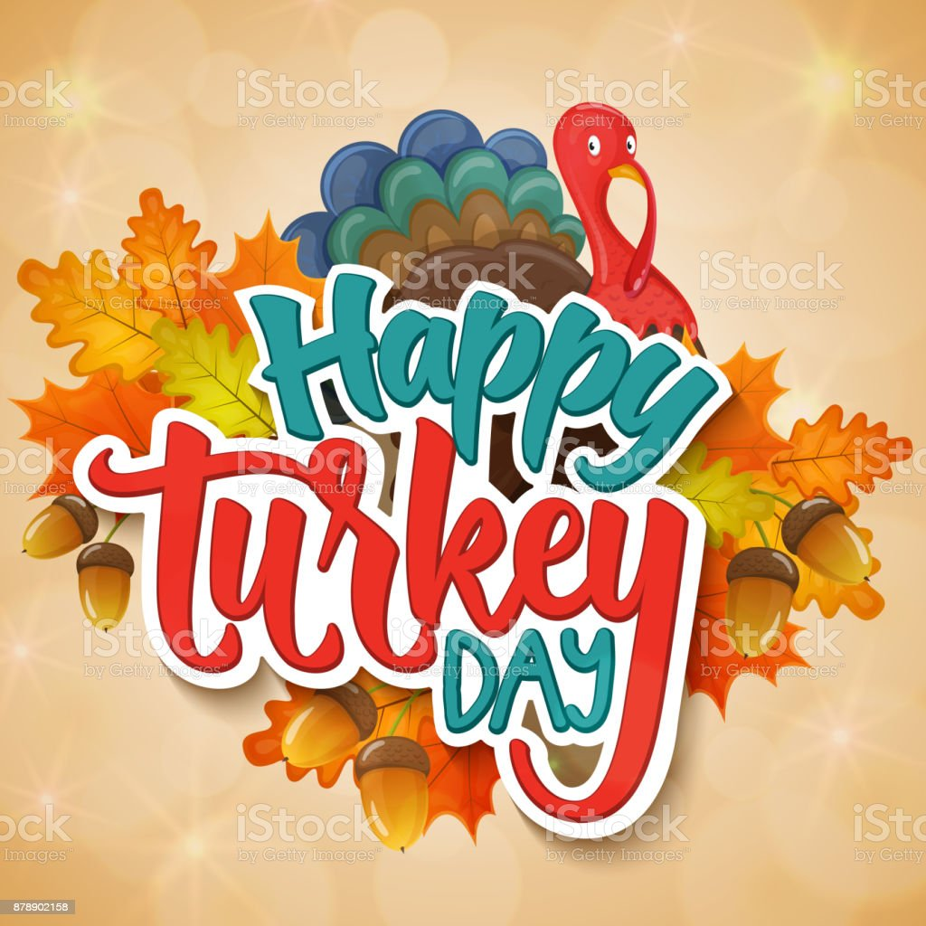 Thanksgiving Day Greetings Stock Vector Art More Images Of