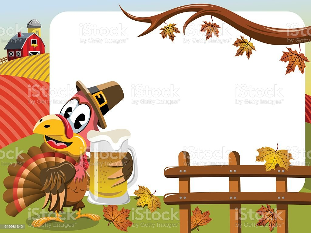 royalty free thanksgiving beer clip art vector images rh istockphoto com thanksgiving feast clipart black and white thanksgiving feast clipart free