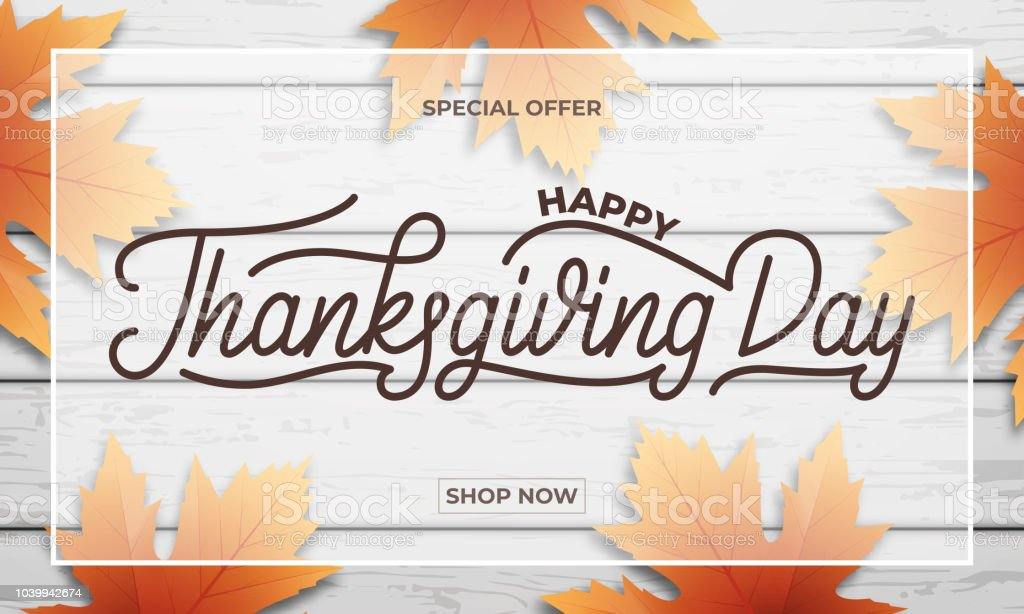 Thanksgiving Day Sale Banner Design For Thanksgiving Sale Stock Images Page Everypixel