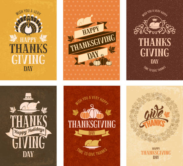 thanksgiving day - thanksgiving turkey stock illustrations