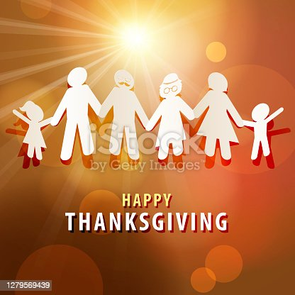 istock Thanksgiving Day with Family 1279569439
