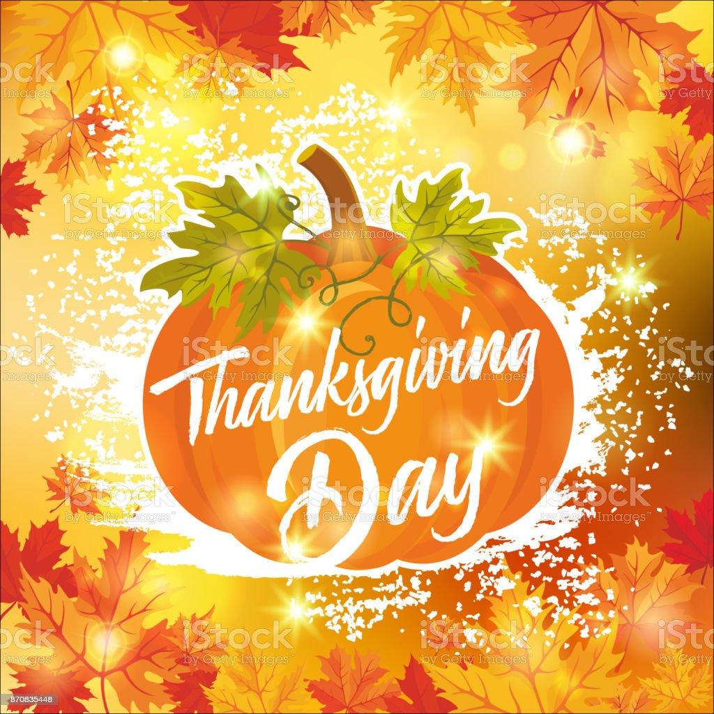 Thanksgiving Day_10 vector art illustration