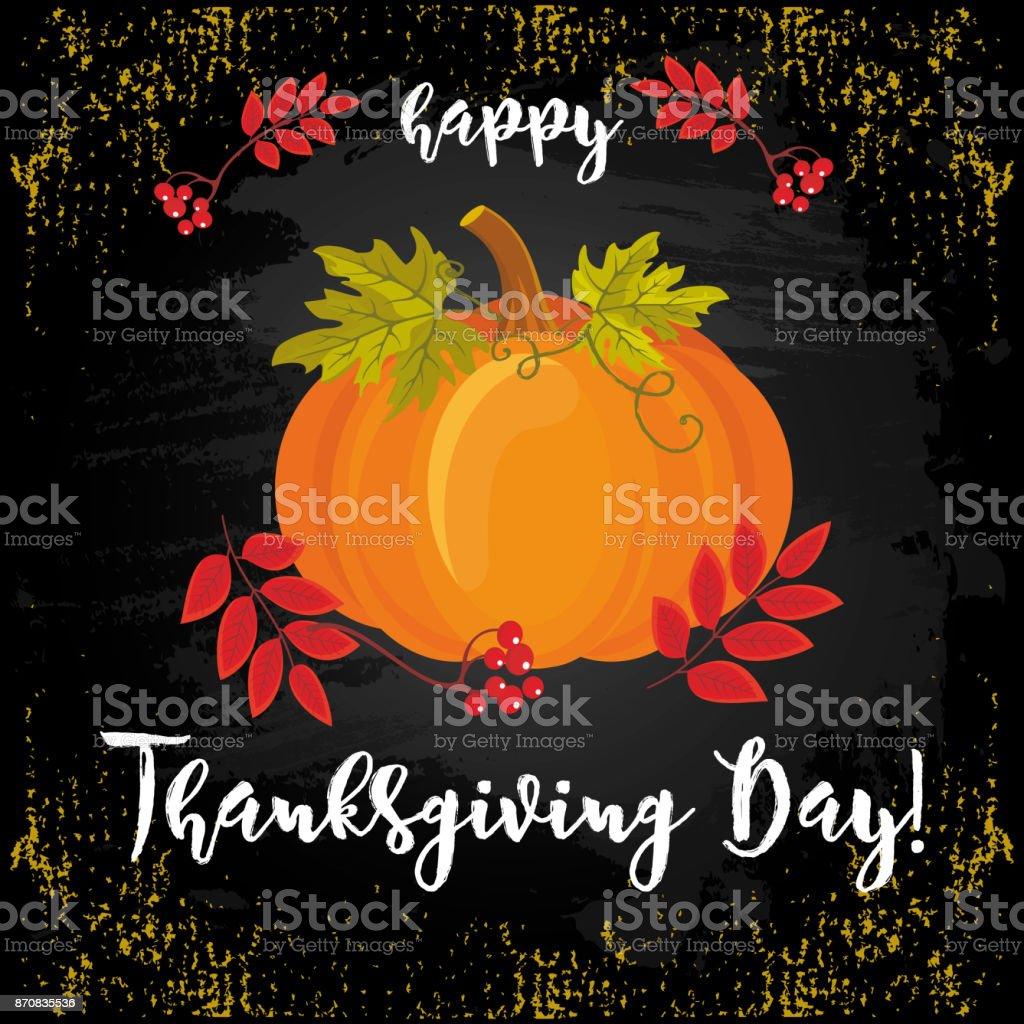 Thanksgiving Day_18 vector art illustration