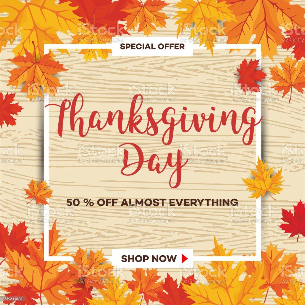 Thanksgiving Day_29 vector art illustration