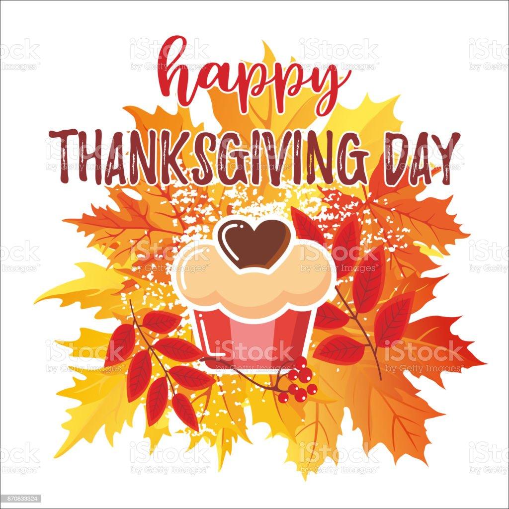 Thanksgiving Day_7 vector art illustration