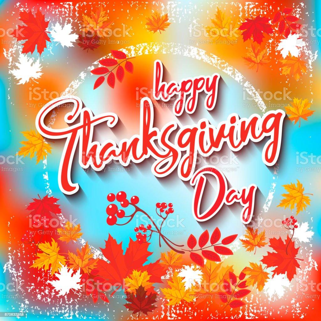 Thanksgiving Day_8 vector art illustration