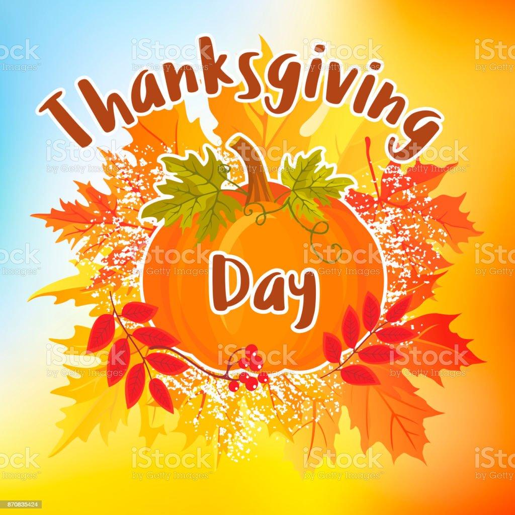 Thanksgiving Day_9 vector art illustration