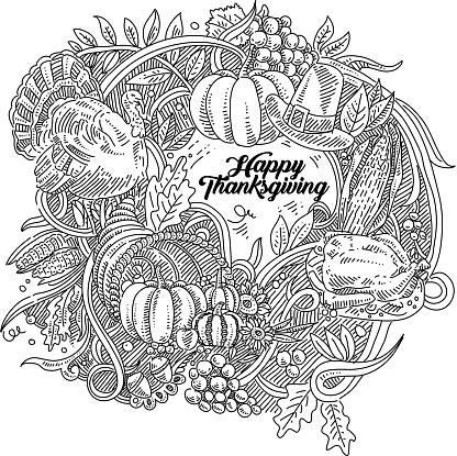 Thanksgiving Drawing