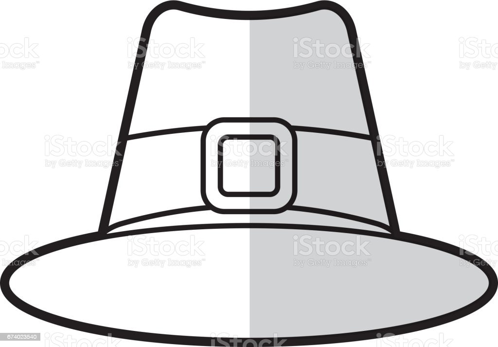 thanksgiving hat isolated icon royalty-free thanksgiving hat isolated icon stock vector art & more images of antique