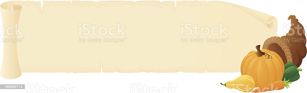 Thanksgiving Message - incl. jpeg vector art illustration