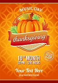 thanksgiving music fetival autumn
