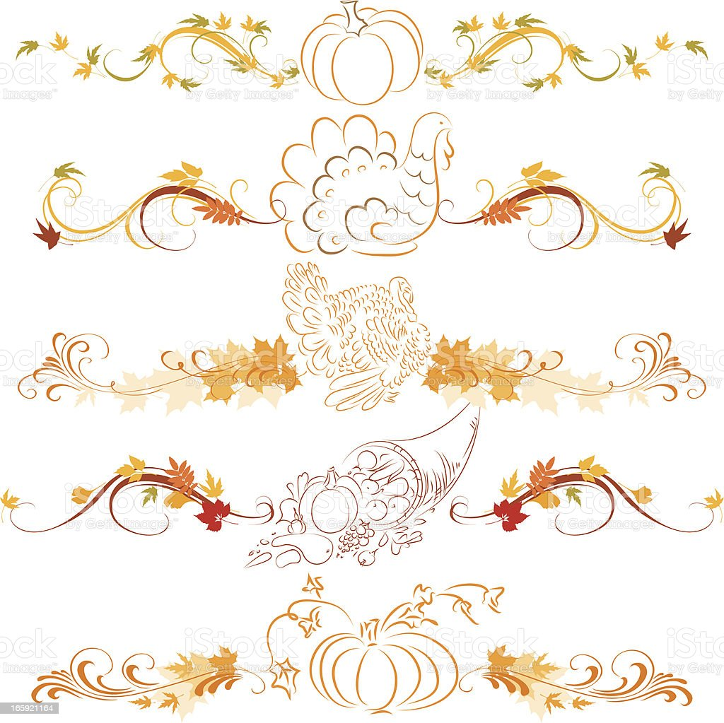 Thanksgiving ornaments royalty-free thanksgiving ornaments stock vector art & more images of art and craft