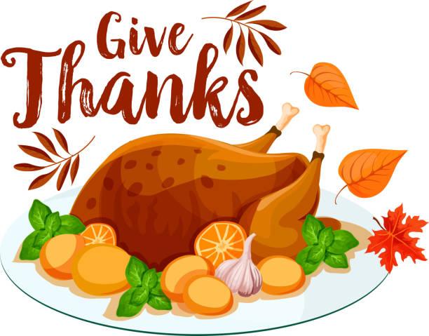 thanksgiving turkey icon for holiday dinner design - turcja stock illustrations