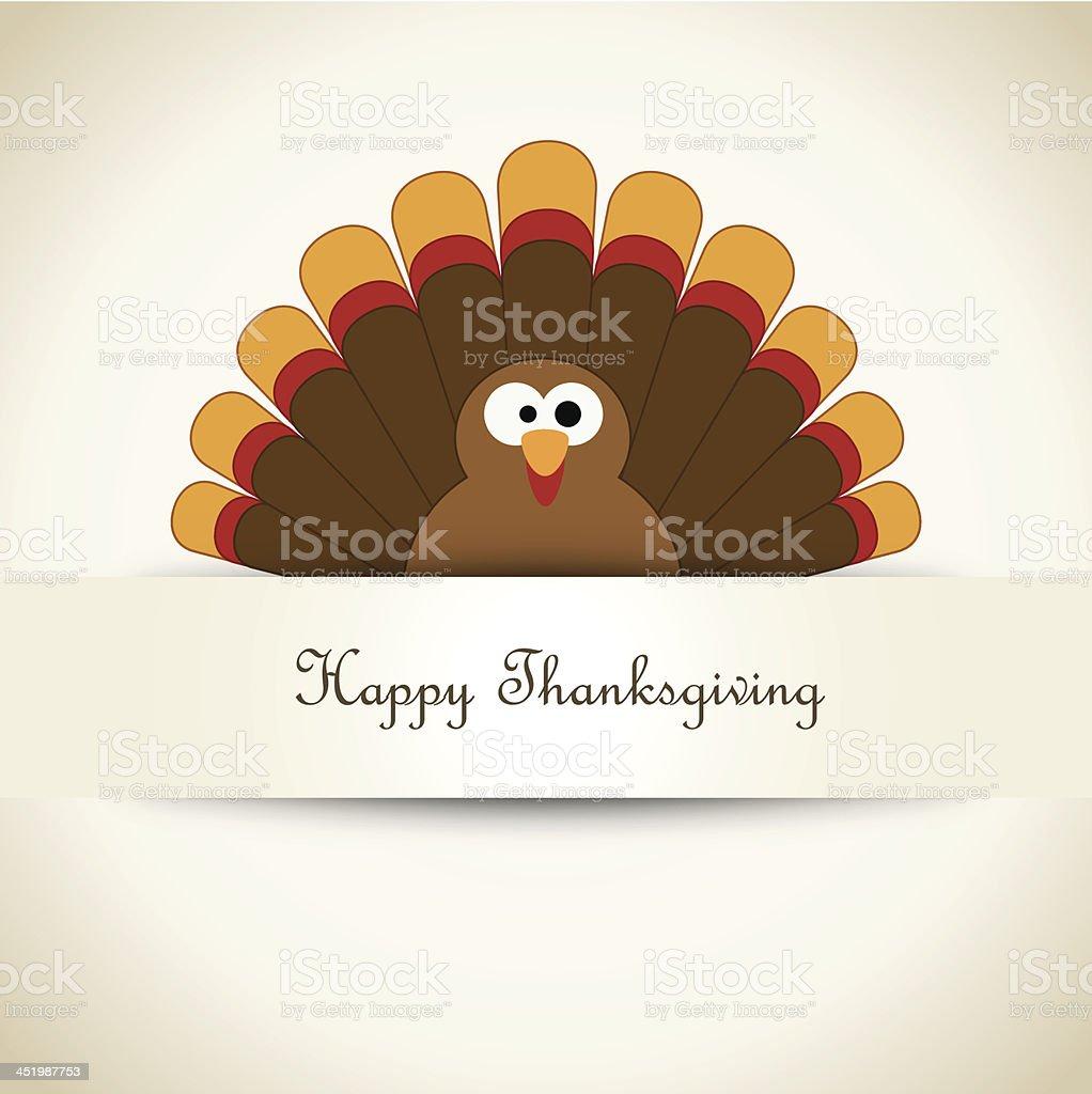 Thanksgiving Turkey - Illustration vector art illustration