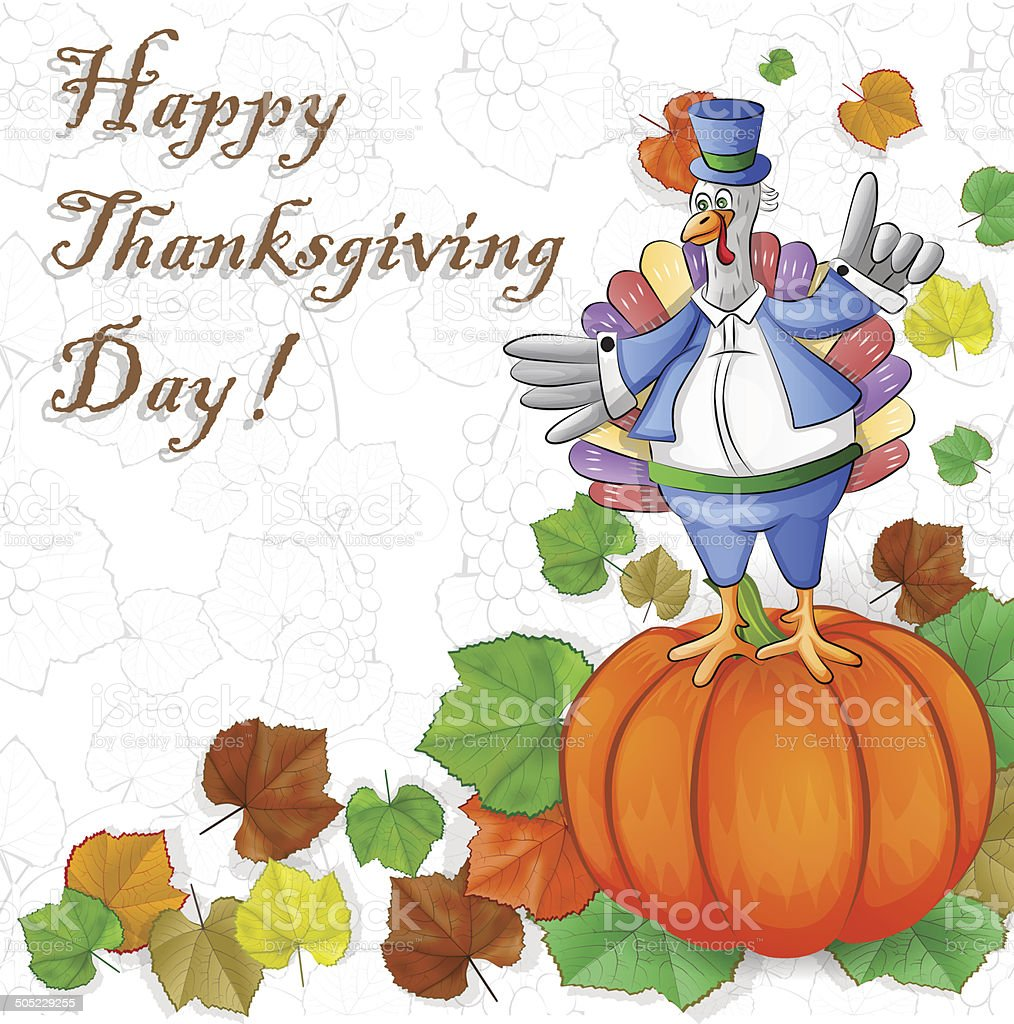 Thanksgiving Turkey royalty-free stock vector art