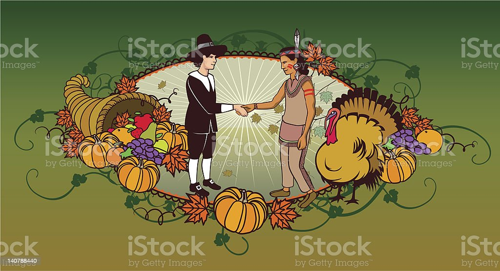thanksguiving bullet royalty-free stock vector art