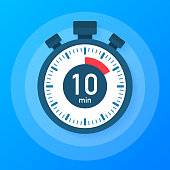 The 5 Minutes Stopwatch Vector Icon Stopwatch Icon In Flat
