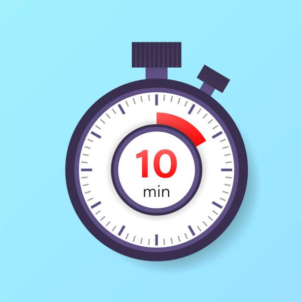 1 146 10 Minute Timer Illustrations Clip Art Istock