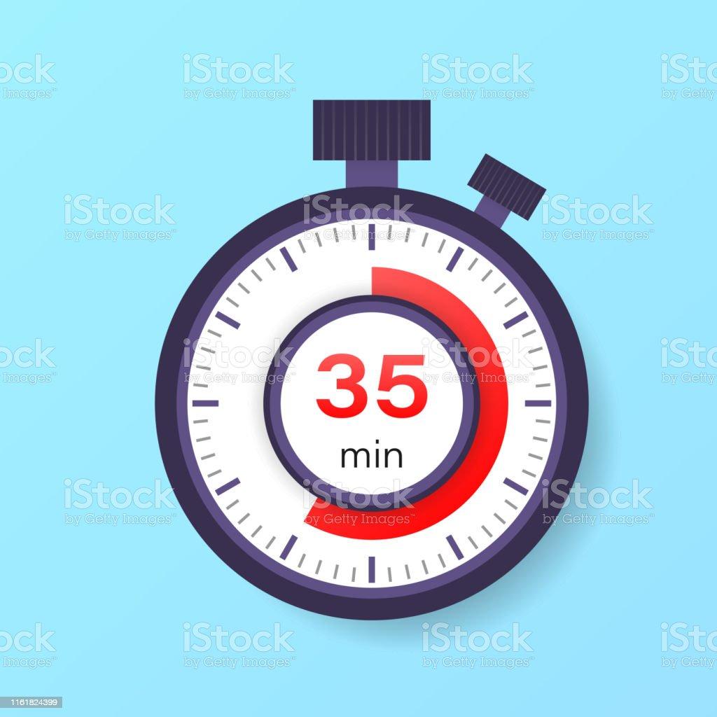 timer 35 minuten