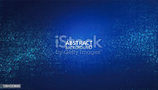 istock The abstract halftone background consists of different dots. 1064033650