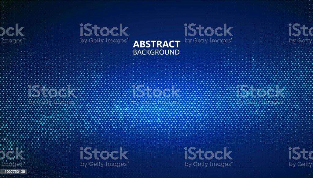 L'arrière-plan abstraite de demi-teintes se compose de différents points. larrièreplan abstraite de demiteintes se compose de différents points vecteurs libres de droits et plus d'images vectorielles de abstrait libre de droits