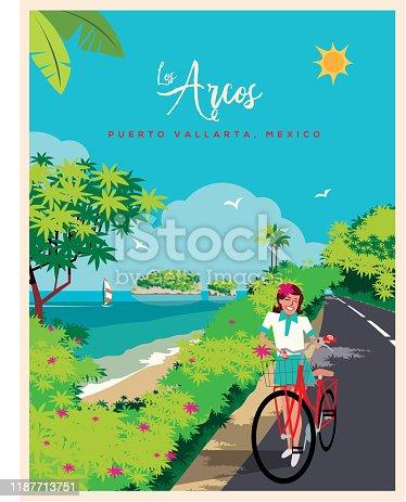 istock The Arches of Puerto Vallarta 1187713751