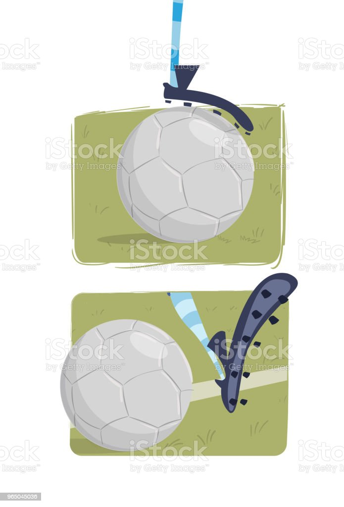 The ball on the feet royalty-free the ball on the feet stock vector art & more images of athleticism
