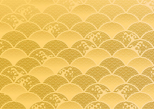 The beautiful pattern of Japan vector art illustration