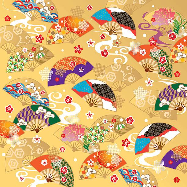 bildbanksillustrationer, clip art samt tecknat material och ikoner med the beautiful pattern of japan - japanskt ursprung
