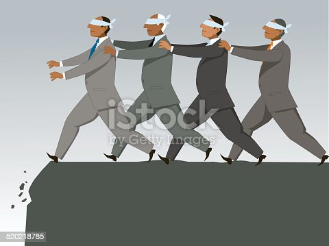 istock The blind leading the blind 520218785