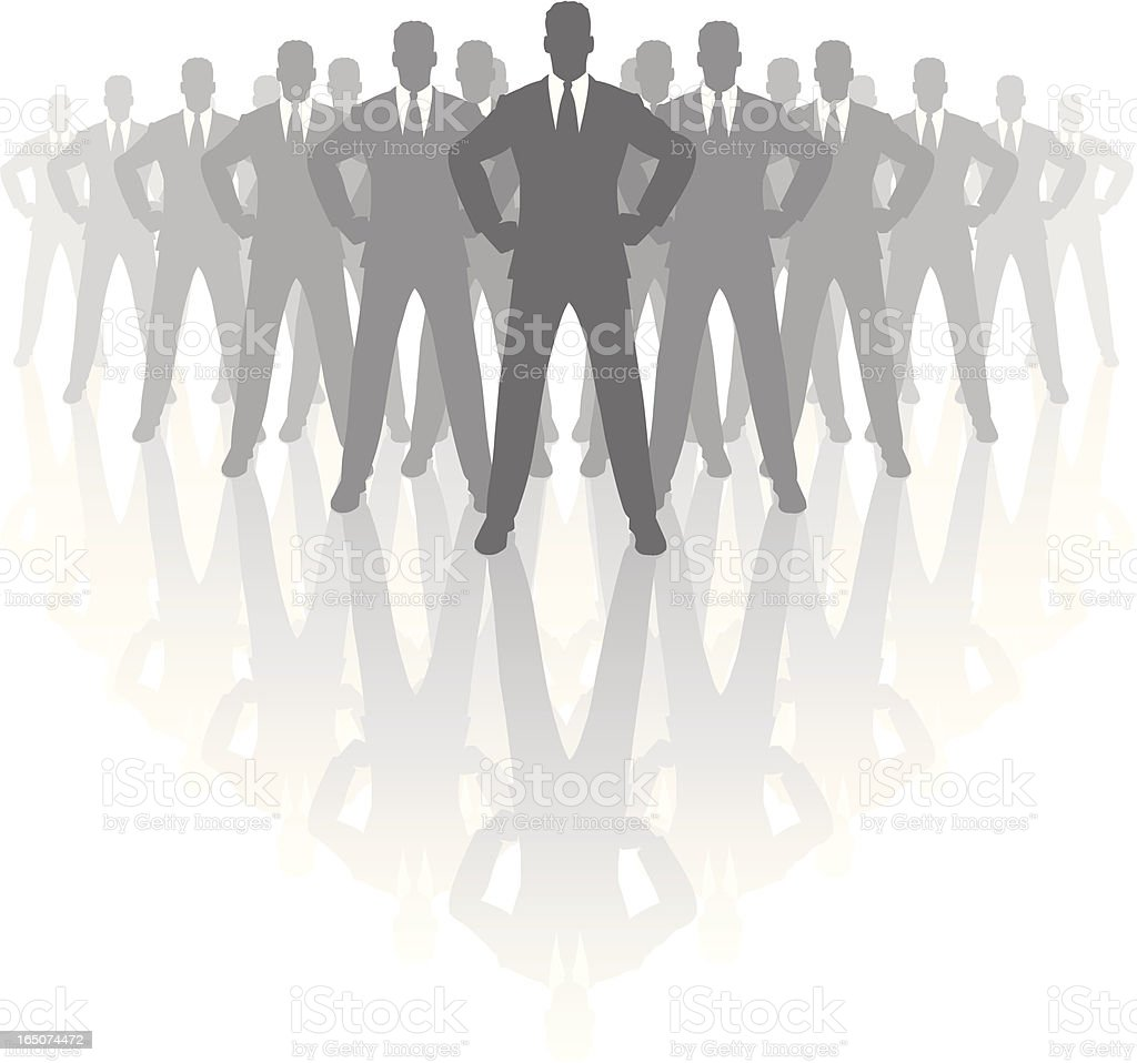 The boss. royalty-free stock vector art